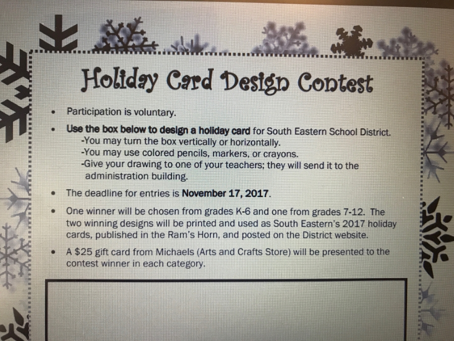 holiday card design contest